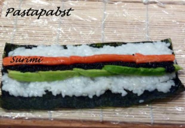 Maki Sushi - Rezept - Bild Nr. 11