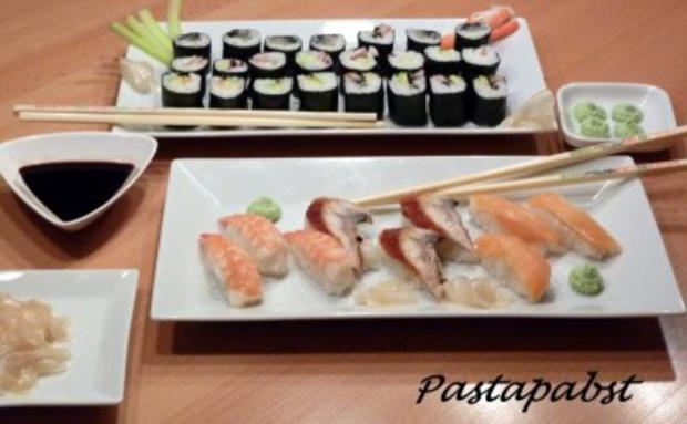 Maki Sushi - Rezept - Bild Nr. 13