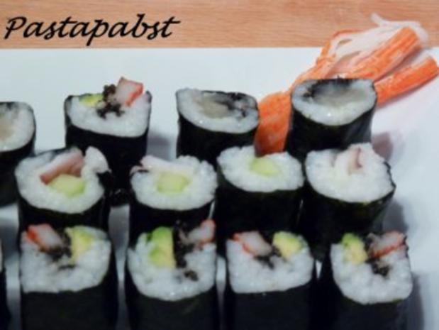 Maki Sushi - Rezept - Bild Nr. 14