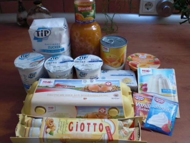Aprikosen-Giotto-Torte - Rezept - Bild Nr. 2