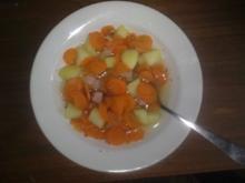 Möhreneintopf mit Kasseler/ Kassler und Kartoffeln - Rezept