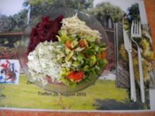 Brasato al Chianti, mit Kartoffelstock und Salat - Rezept