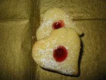 Himbeer-Herzen - Rezept