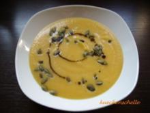 Cremige Herbstsuppe - Rezept