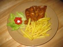Sahnige Schnitzel-Champignon-Pfanne - Rezept