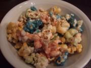 Halloween Popcorn bunt - Rezept