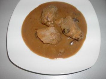 Lende in Sahne - Pilz - Sauce - Rezept