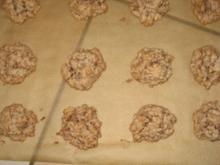 Weihnachtsbäckerei - Macadamia-Schoko-Häufchen - Rezept