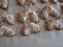 Weihnachtsbäckerei - Marzipanhörnchen - Rezept