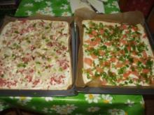 Flammkuchen für Besuch - Rezept