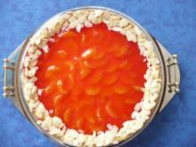 Schmand -  Mandarinen - Torte - Rezept