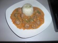 Mett - Zwiebel - Sauce - Rezept