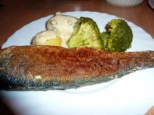 Fisch: Wolfbarsch an Limetten-Kapernsauce - Rezept