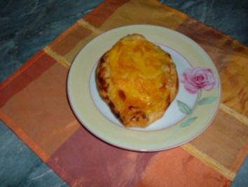 Kuchen......Blätterteig - Teilchen.....mit Eierlikör - Rezept