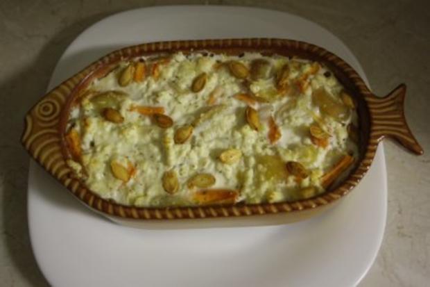 Kartoffel-Karotten-Gratin - Rezept - Bild Nr. 7