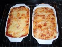 Überbackene Cannelloni - Rezept