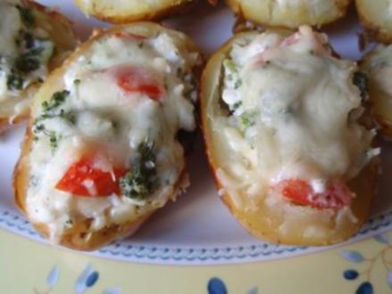 Brokkoli-Käse-Kartoffeln - Rezept