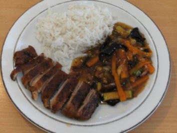 Rezept: Fleisch: Ente, chin. , doppelt gebraten
