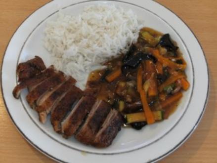 Fleisch: Ente, chin. , doppelt gebraten - Rezept