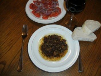 Fleisch: Lammherz-Ragout - Rezept
