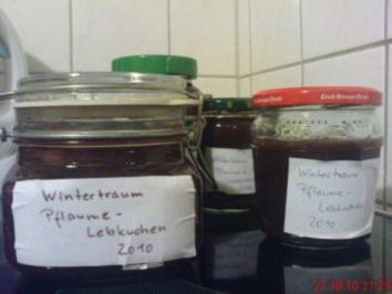 Wintertraum Pflaumen-Marmelade - Rezept