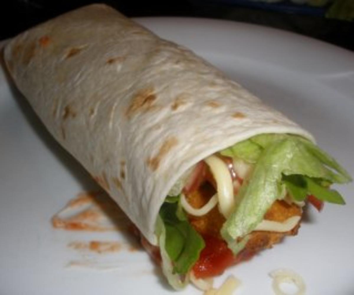 Mcdonalds Chicken Wrap