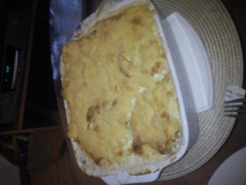 Tortellini alla panna al forno - Rezept