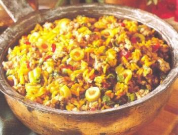 Rezept: Mexikanische Reispfanne