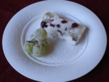 Trauben - Quark - Halbgefrorenes - Rezept