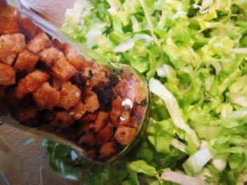 Rezept: Knoblauch-Croutons