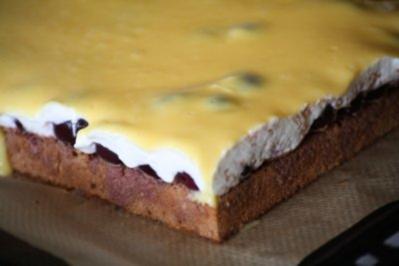4 Schmand Kuchen Mit Loffelbiskuit Rezepte Kochbar De