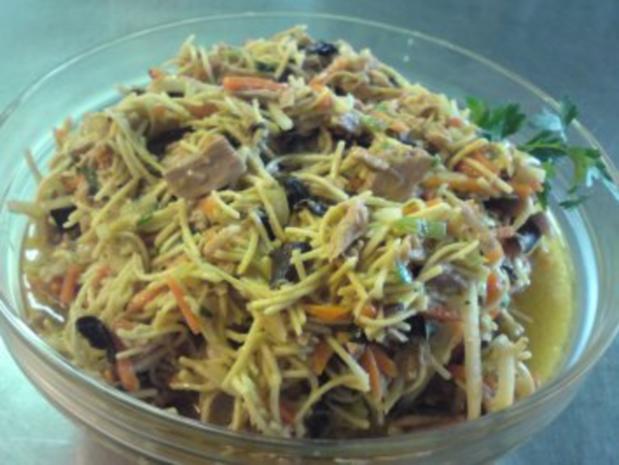 Asiatischer Nudel-Thunfisch-Salat - Rezept - Bild Nr. 2