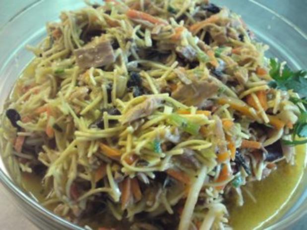 Asiatischer Nudel-Thunfisch-Salat - Rezept - Bild Nr. 3