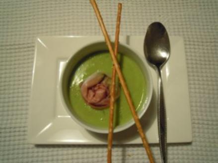 Erbsen-Minze Suppe - Rezept