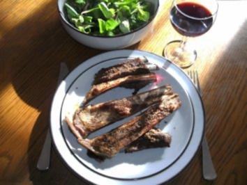 Fleisch: Lamm-Spare-Ribs - Rezept