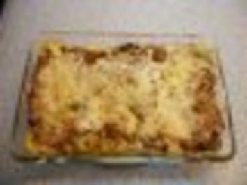 Rindfleisch-Gemüse-Lasagne (ohne Bechamel-Sauce) - Rezept