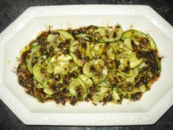 Anti-Zucchi-Pasti - Rezept