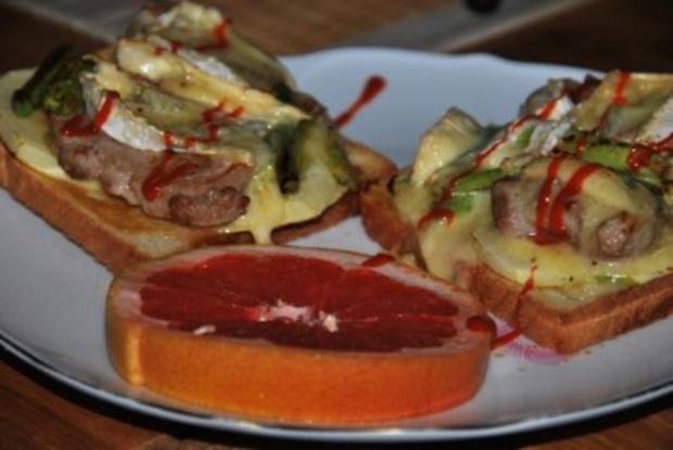 Schweinischer Filet-Toast - Rezept - Bild Nr. 2