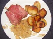 Fleisch : -Geräucherts  Knöchla- - Rezept