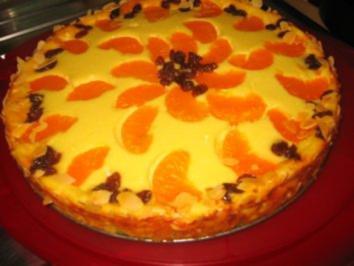 Backwaren: Mandarinen-Orangen-Käsekuchen... - Rezept