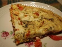 Tomaten-Omelett mit Mozzarella - Rezept