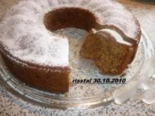 Haselnuss-Schoko-Apfelkuchen - Rezept