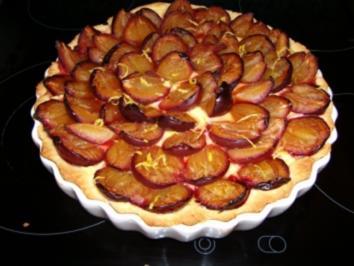 Rezept: Pflaumen-Quark-Kuchen