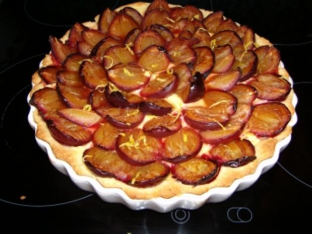 Pflaumen-Quark-Kuchen - Rezept