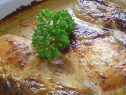 Hähnchenbrustfilet in Sahne-Kräuter-Soße - Rezept