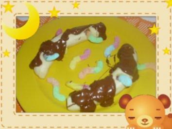 Rezept: Bananen-Würmer