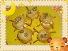 Cremige Gruselspinnen - Rezept