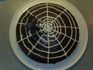 Rezept: Kuchen+Torten: Spinnennetz-Kuchen