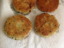 Schnelle Mozzarella Frikadellen - Rezept