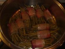 Beilagen: Grüne Bohnen im Schinkenmantel - Rezept